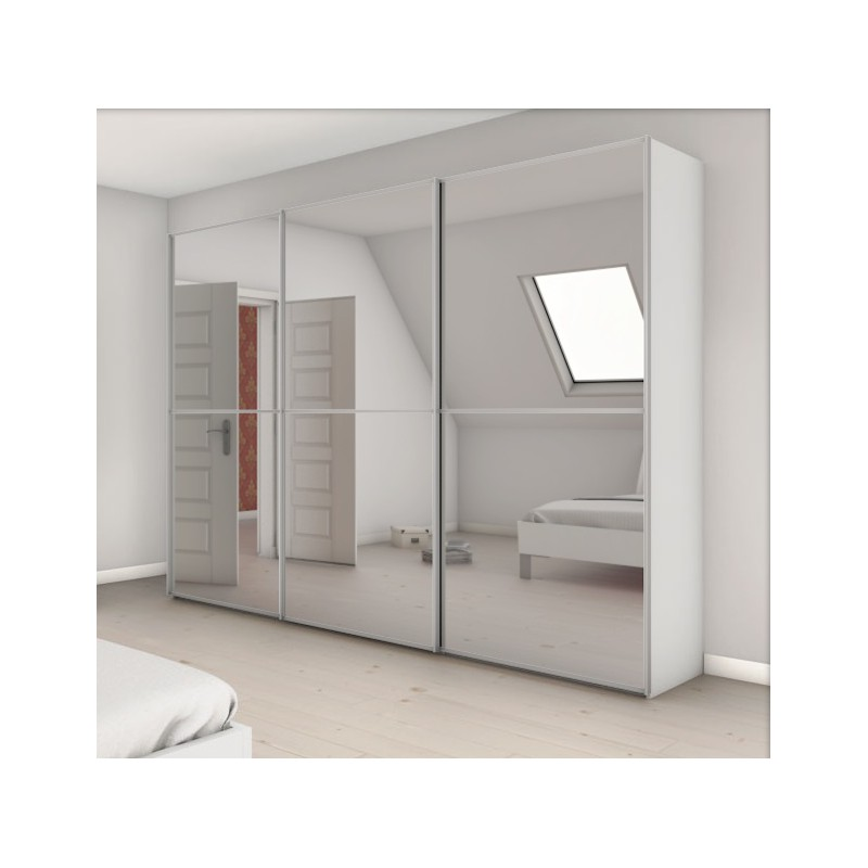 armoire attraction 3 portes coulissantes achat en ligne. Black Bedroom Furniture Sets. Home Design Ideas
