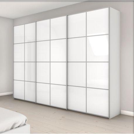 armoire attraction 5 3 portes coulissantes achat en ligne. Black Bedroom Furniture Sets. Home Design Ideas