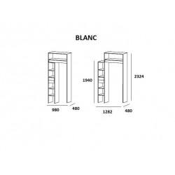 Rangement modulaire extensible 9.12