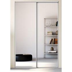 2 portes miroir coulissantes de placard 2500x1600