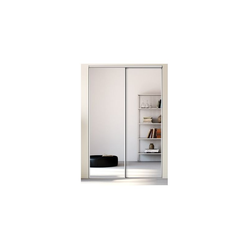 kazed 2 portes esquisse miroir achat en ligne. Black Bedroom Furniture Sets. Home Design Ideas