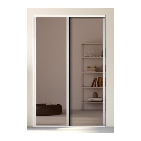 Kazed 2 portes influence miroir achat en ligne for Decoration porte kazed