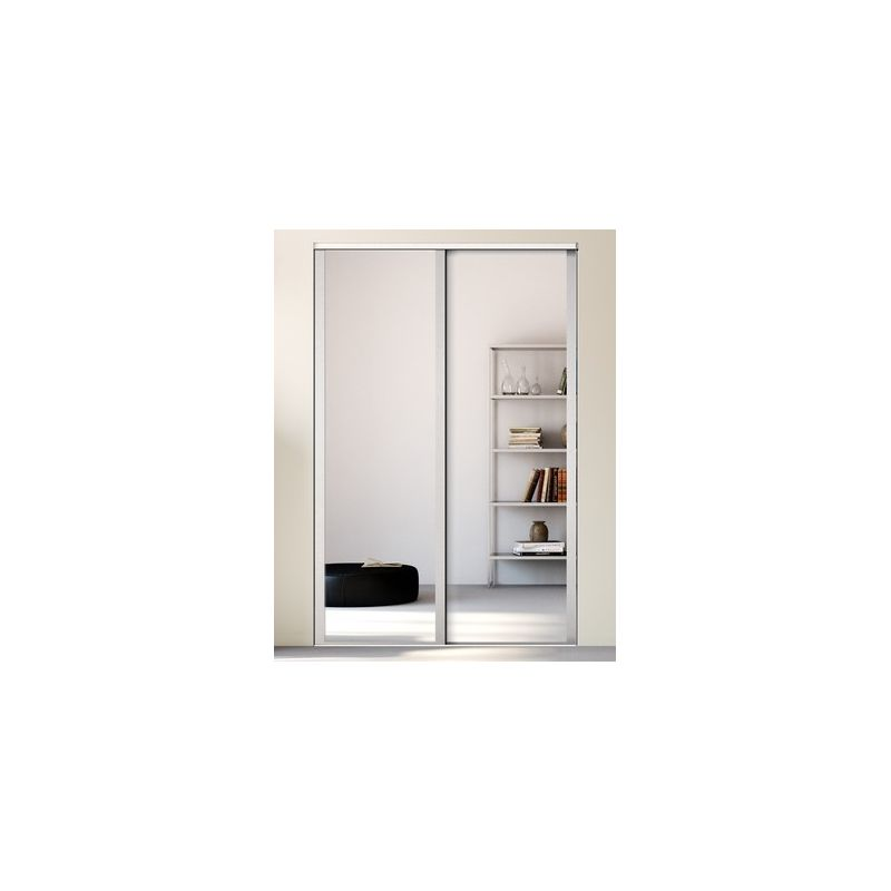 kazed 2 portes influence miroir achat en ligne. Black Bedroom Furniture Sets. Home Design Ideas