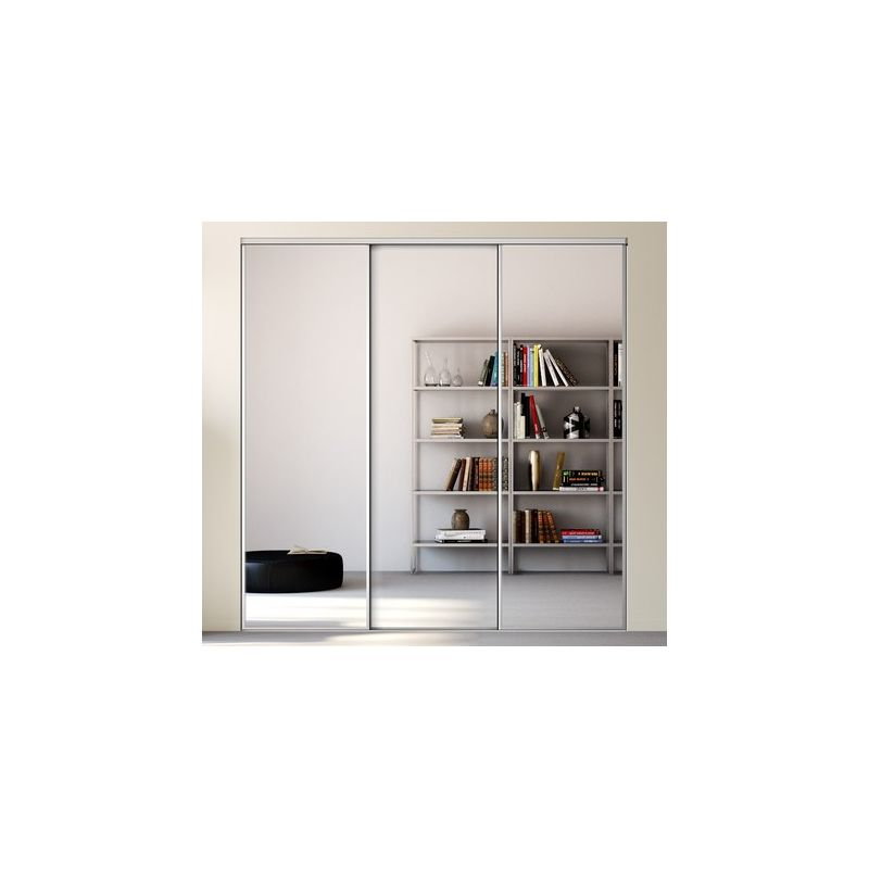 porte placard coulissante miroir sur mesure. Black Bedroom Furniture Sets. Home Design Ideas