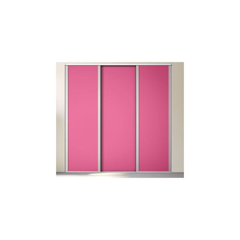 Kazed 3 portes influence d cor achat en ligne - Decoration porte placard ...