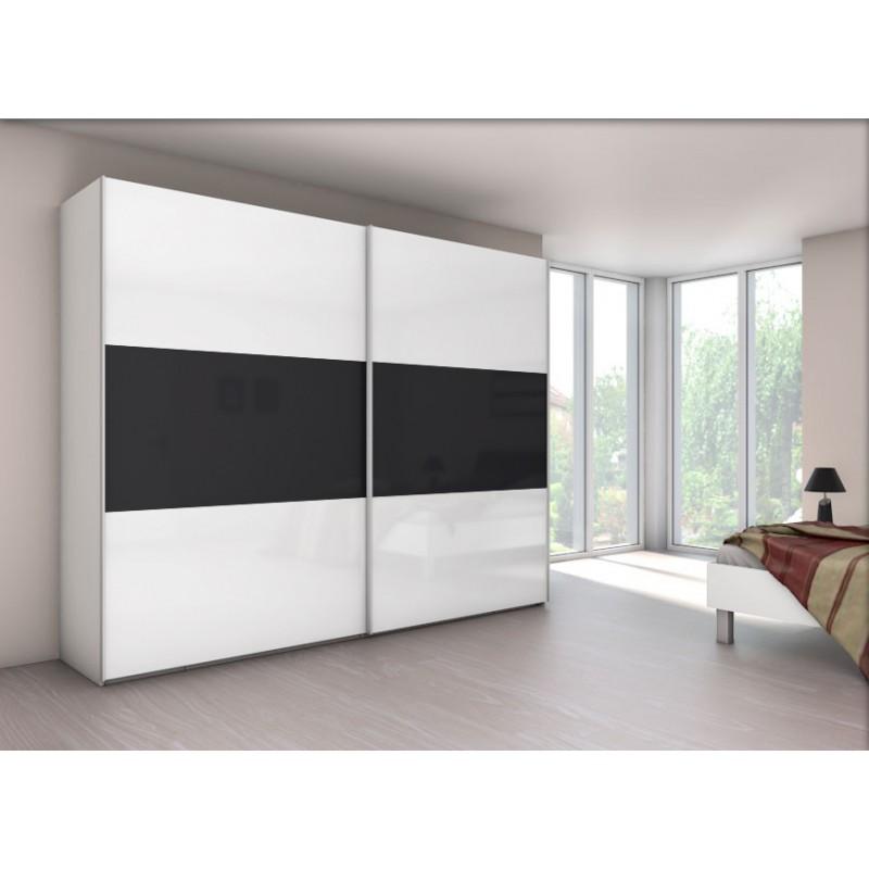 Armoire velia 3b 2 portes coulissantes achat en ligne - Monter un dressing avec porte coulissante ...