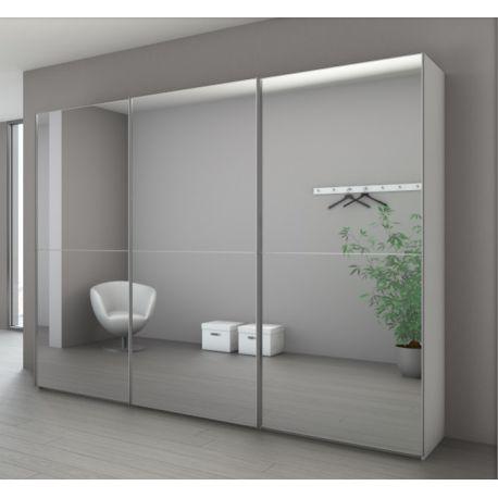 armoire marcato 2 à 3 portes coulissantes – achat en ligne