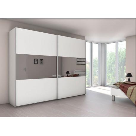 armoire velia 2b 2 portes coulissantes achat en ligne. Black Bedroom Furniture Sets. Home Design Ideas