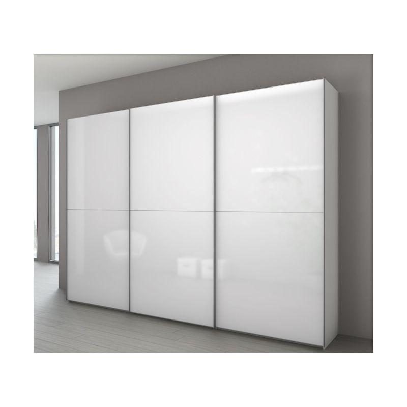 Armoire designe armoire porte coulissante chez but for Armoire penderie chez but