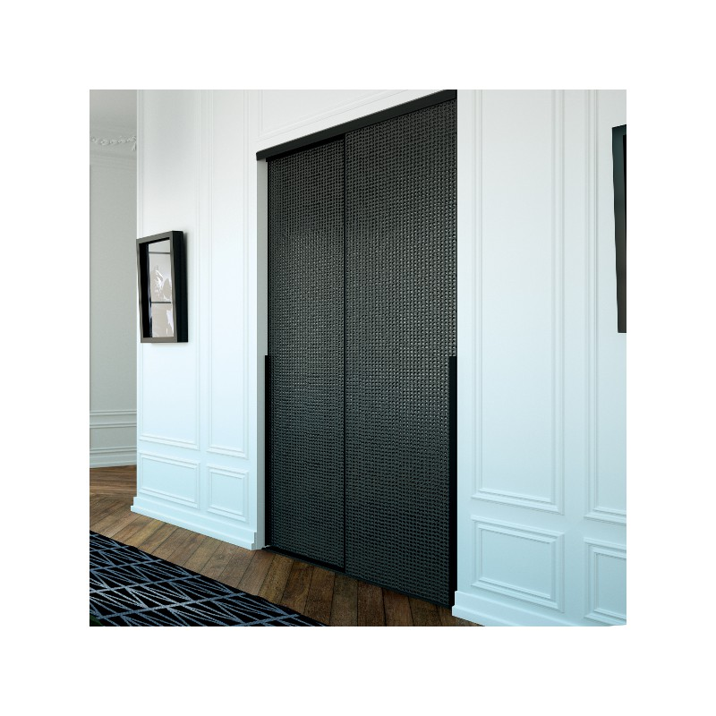 deco porte coulissante great porte en verre deco deux vantaux with deco porte coulissante. Black Bedroom Furniture Sets. Home Design Ideas