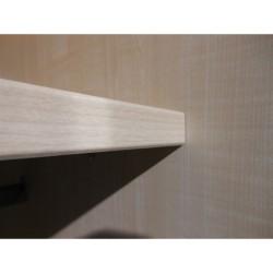 Etagères supplémentaires pour armoire portes coulissantes NOLTE