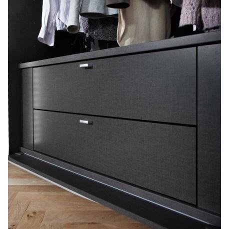 bloc de 2 tiroirs pour armoire planeo. Black Bedroom Furniture Sets. Home Design Ideas