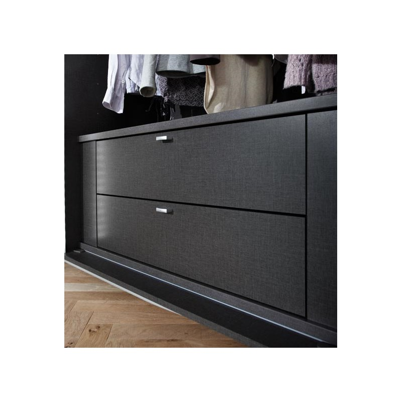 bloc de 2 tiroirs pour armoire planeo. Black Bedroom Furniture Sets. Home Design Ideas