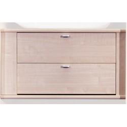 Bloc de 2 tiroirs pour armoire de lit pont  de 40cm de largeur