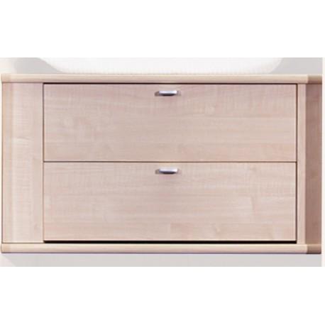bloc de 2 tiroirs pour armoire de lit pont de 40cm de largeur. Black Bedroom Furniture Sets. Home Design Ideas