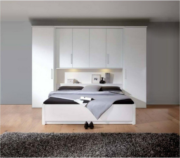 lit pont blanc. Black Bedroom Furniture Sets. Home Design Ideas
