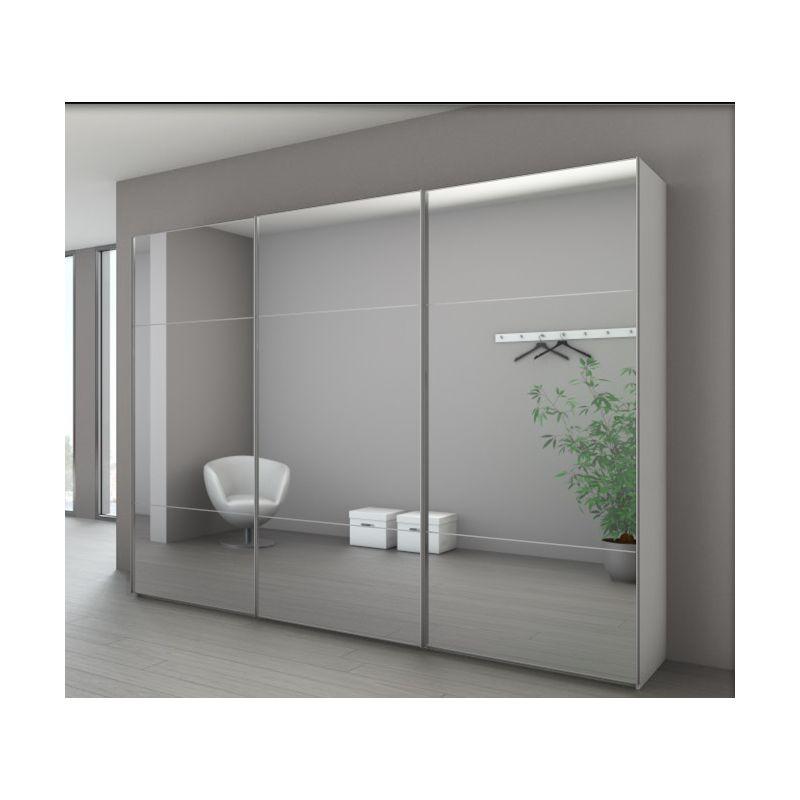 Armoire marcato 3 3 portes coulissantes achat en ligne for Armoire nolte prix