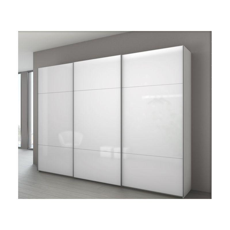 Armoire marcato 3 3 portes coulissantes achat en ligne - Armoire 3 porte coulissante ...