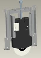Roulette pour placard kazed