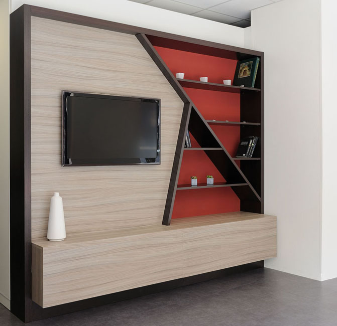 Living et meuble tv blog univers du placard - Meuble living tv design ...