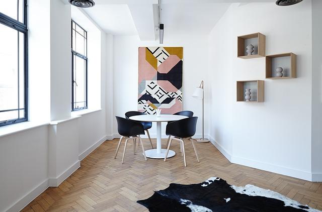 Salon décoration d'intérieur
